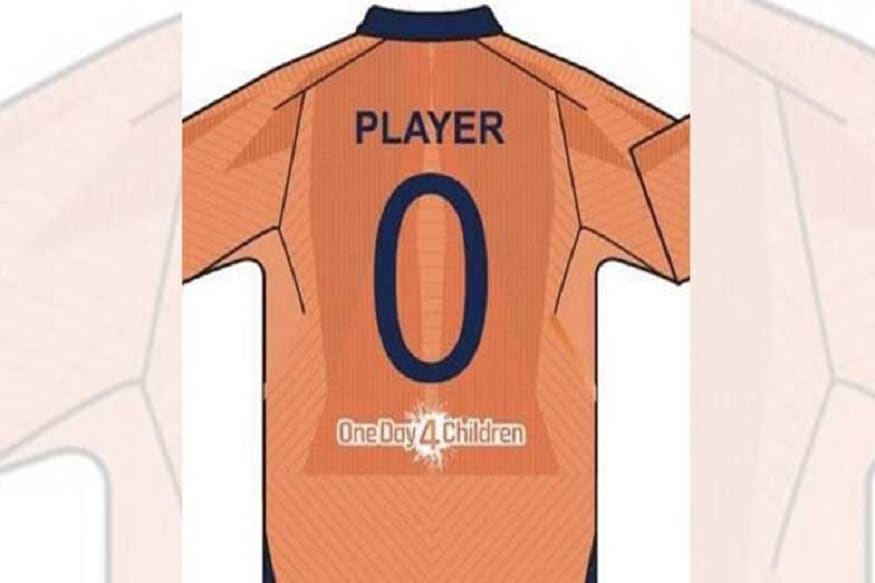 Orange Is The New Blue India S Alternate Jersey For World