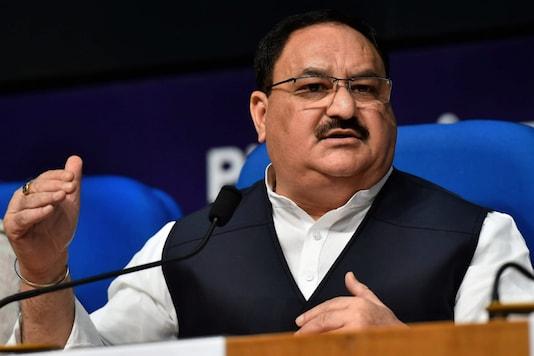 File photo of new BJP president JP Nadda.