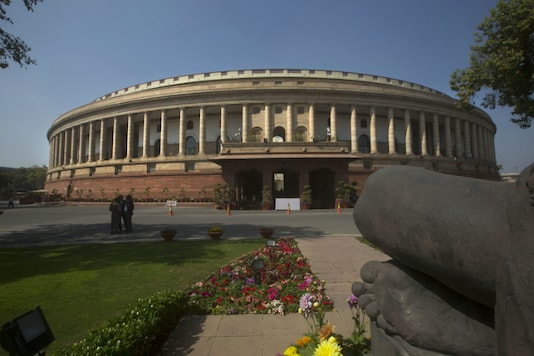 File photo of the Parliament building. (AP image)