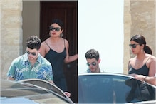 Nobody Can Beat Priyanka Chopra-Nick Jonas' Stylish Entry at Joe-Sophie Turner's Wedding Venue