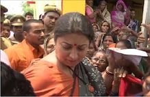 From Calling Ambulance to Consoling Woman, Smriti Irani Plays People's Leader on Maiden Visit to Amethi