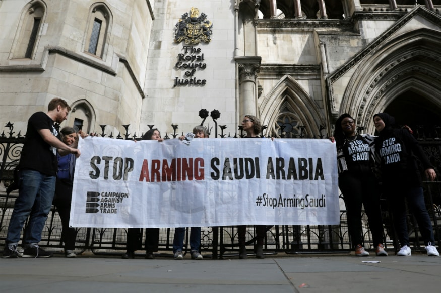 Britain Suspends New Saudi Arms Licences Linked to Yemen