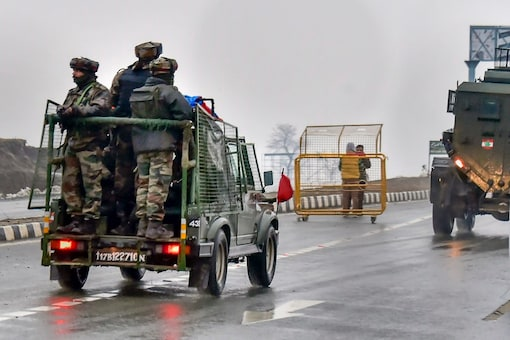 Army officials patrolling the streets in Kashmir (Representational Image: PTI)