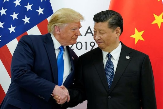 US President Donald Trump with China's President Xi Jinping (Image: Reuters)