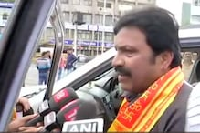 Four Rebel MLAs from Karnataka Visit Siddhivinayak Temple in Central Mumbai