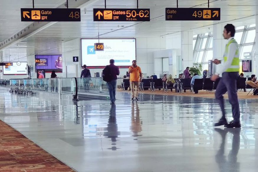 Image result for Delhi Airport Terminal 3 Gets New Carpet Flooring, Twitterati Thank Former MoS Jayant Sinha