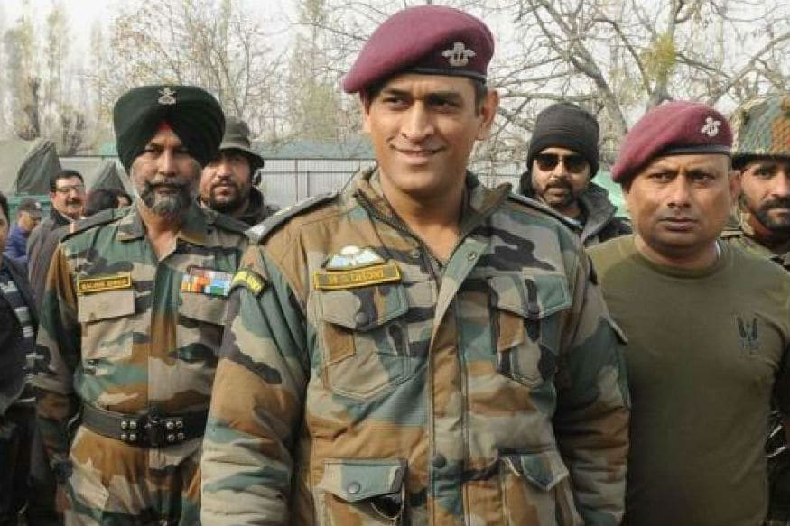 Lt. Colonel MS Dhoni Receives Warm Welcome in Ladakh on 73rd Independence Day