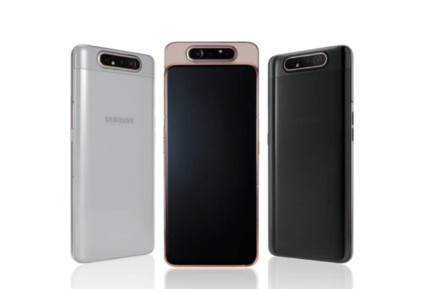 Samsung Galaxy A80 With Rotating Camera, Snapdragon 730G Processor Launched for Rs 47,999