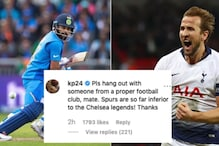 Pietersen Had This to Say About English Football Star Harry Kane Batting For Kohli in World Cup