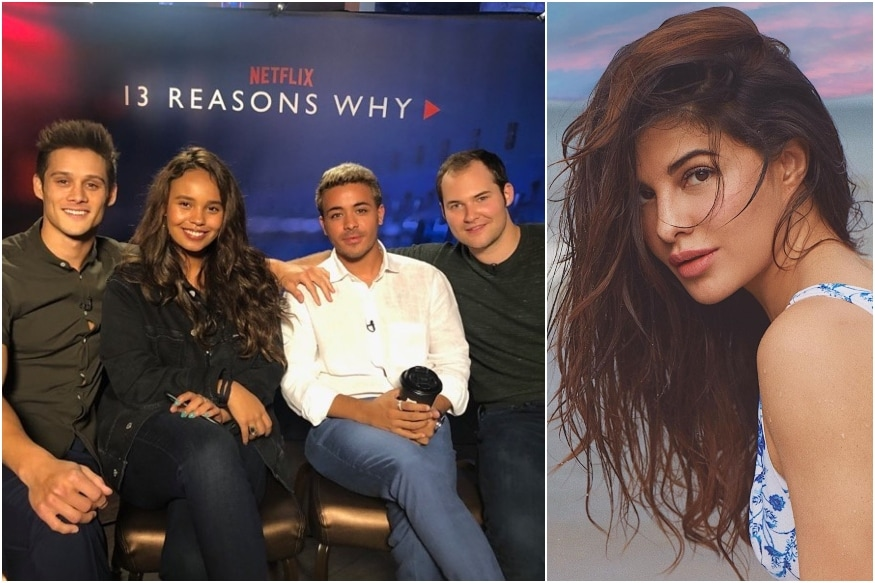 13 Reasons Why Cast Wishes 'Special Fan' Jacqueline Fernandez on Her