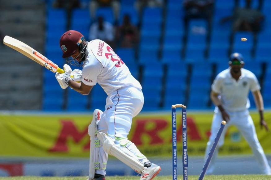 In Pics, India vs West Indies Day 2 at Antigua