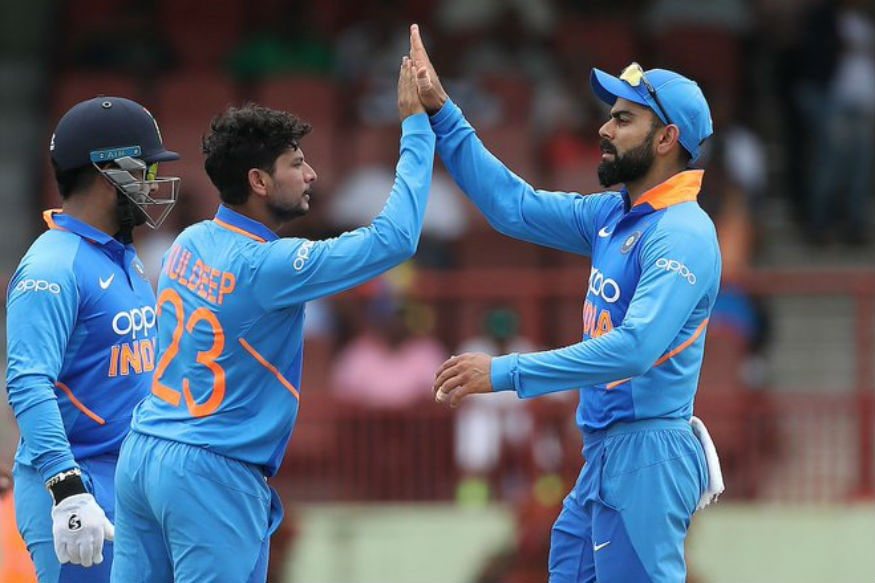 In Pics, India Vs West Indies, First ODI