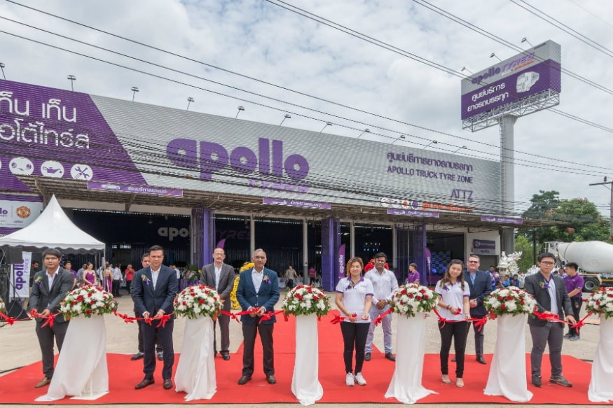 Apollo Tyres Inaugurates Its First Truck Tyre Zone in Thailand