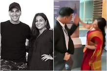 Akshay Kumar Tastes Dirt as He Takes on Vidya Balan in Mission Mangal BTS Clip