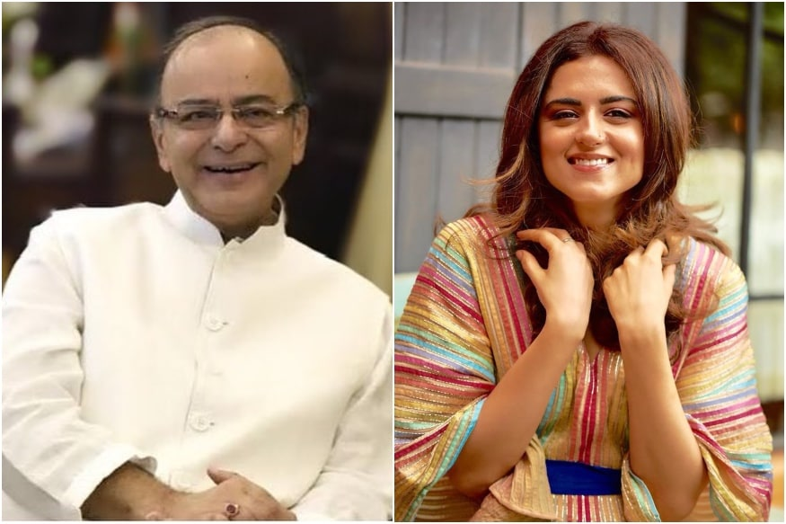 TV Star Ridhi Dogra Pens Emotional Tribute to Arun Jaitley: I Know Youre Resting in Peace