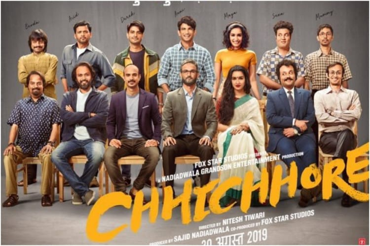 Poster of 'Chhichhore' film