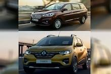 Renault Triber vs Maruti Suzuki Ertiga Spec Comparison: Specifications, Features, Video Review and More