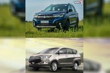 Maruti Suzuki XL6 vs Toyota Innova Crysta Spec Comparison: Features, Price and More