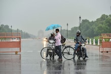 Cloud Cover, Light Rain Give Delhiites Relief from Heat Wave