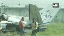 Chartered Plane from Delhi Crashes in Aligarh, Six on Board Escape Unhurt
