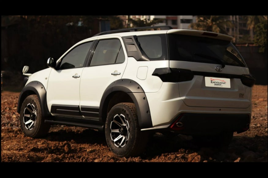Modified Toyota Fortuner. (Image source: Motoroids)
