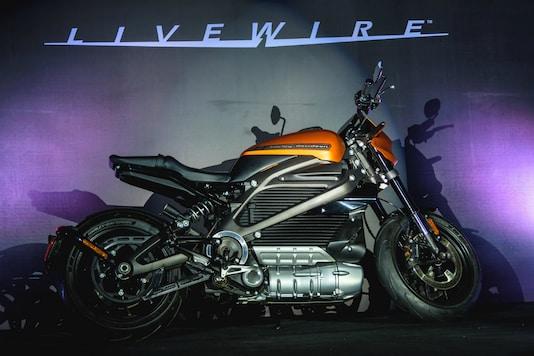 Harley-Davidson LiveWire.  (Image source: Harley Davidson)