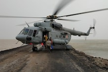 Watch an IAF Mi17 Helicopter Land on Narrow Stretch of Road to Save 125 Lives in Gujarat