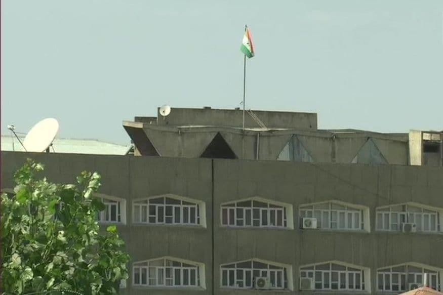 Days After Losing Special Status, Jammu Kashmir State Flag Taken Off Civil Secretariat Building Rooftop