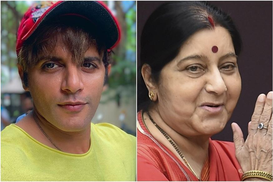 Karanvir Bohra Mourns Sushma Swaraj's Demise, Recalls Moscow Detainment Incident