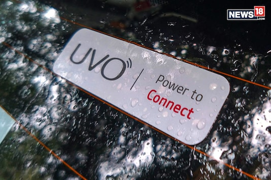 Kia Seltos will come with UVO connected technology. (Image: Arjit Garg/News18.com)