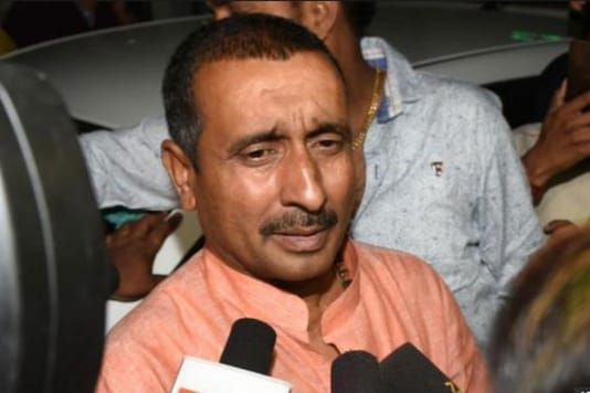 File photo of rape accused Kuldeep Singh Sengar.