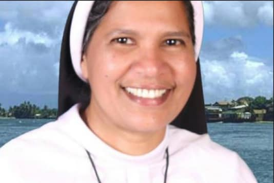 File photo of sister Lucy Kalappura.