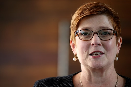 Australia's Foreign Minister Marise Payne. (Image: REUTERS/File)