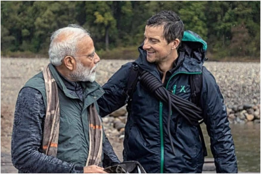 Discovery Creates History with Bear Grylls' Man Vs Wild Episode Featuring PM Narendra Modi