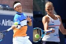 US Open: Kei Nishikori, Karolina Pliskova Enter Round 2 in Contrasting Fashion