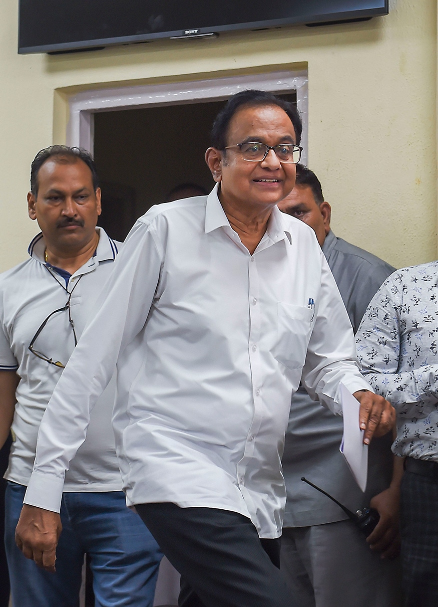 CBI Seeks Five-Day Custodial Interrogation of Chidambaram in INX Media Case, His Lawyers Oppose