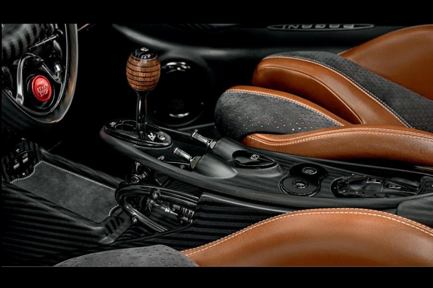 Pagani Huayra Roadster BC Interiors.(Image Pagani)