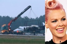 Private Cessna Plane Carrying Singer Pink's Crew Crashes, Bursts into Flames in Denmark