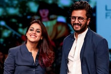 Riteish Deshmukh Reveals Genelia D'Souza is Looking at Scripts, Hopes to Work With Her Soon
