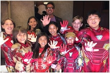 Robert Downey Jr Shares Adorable Video with Kids Dressed as Iron Man