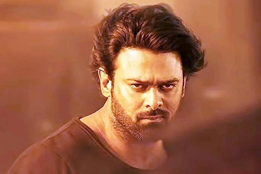 Prabhas in a still from Saaho.
