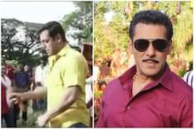 Salman Khan Feels Pleasure in Sharing Pain as He Beats Himself with Whip, Watch Video