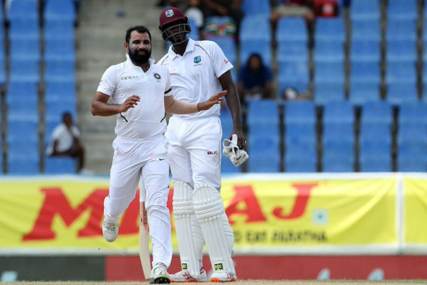 Shami picks up his first wicket of the day (BCCI)