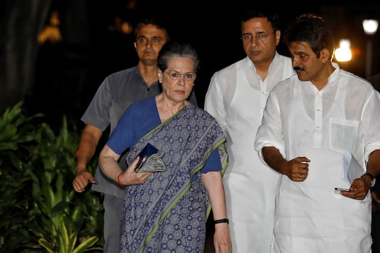 File photo of Congress leader Sonia Gandhi (Image: Reuters)