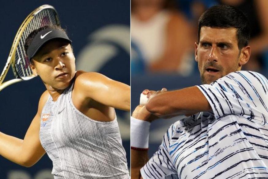 Novak Djokovic, Naomi Osaka Named US Open Top Seeds