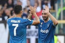 Serie A: Giorgio Chiellini Gets Juventus Off the Mark as Napoli Beat Fiorentina
