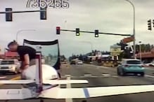 WATCH: Police Dashcam Captures Plane's Freaky Landing on Washington Road