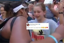 Young Fan Breaks Down on Being Hugged by US Open Defending Champion Naomi Osaka