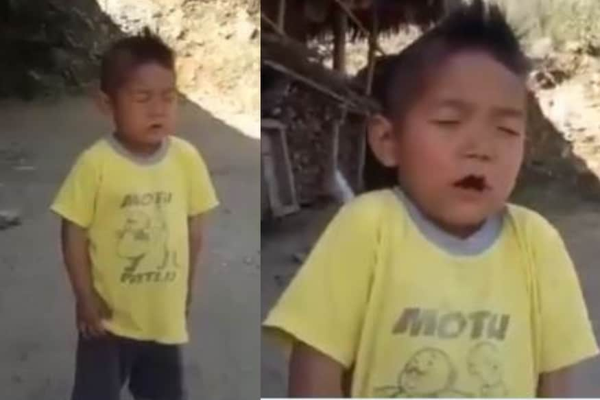 Watch: Arunachal Pradesh Boy Sings National Anthem with Passion, Enthusiasm Grips Netizens