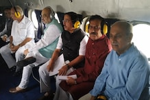 Home Minister Amit Shah Undertakes Aerial Survey of Floot-Hit Areas in Karnataka